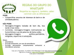 regras whatsapp