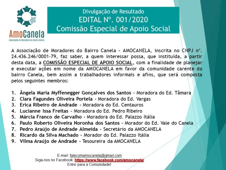 comissão de apoio social 2