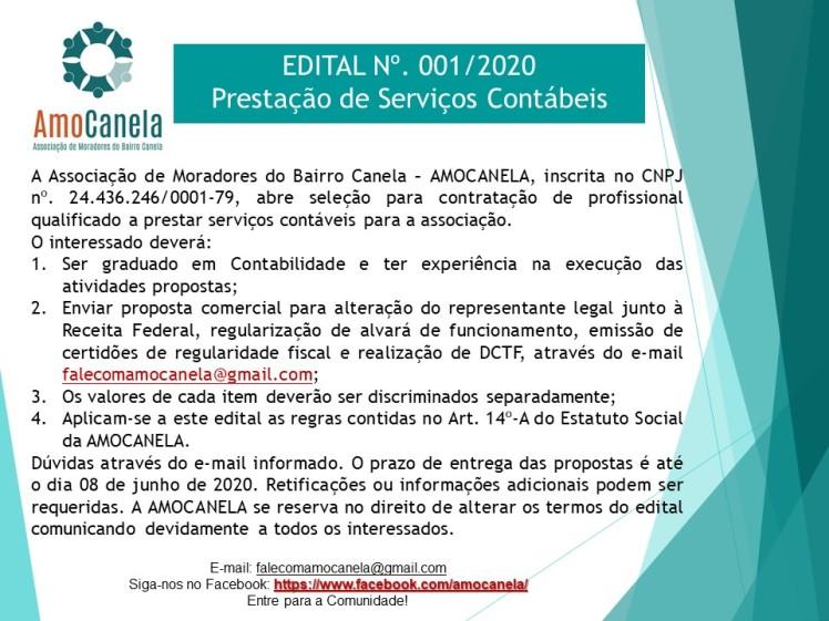 EDITAL 001-2020 CONTADOR